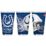 Indianapolis Colts 16-Ounce Pint Glass